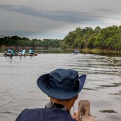 Estudios sobre la biología y migración de los peces y mamíferos amazónicos.